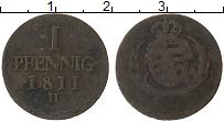 Изображение Монеты Саксе-Альтенбург 1 пфенниг 1811 Медь VF