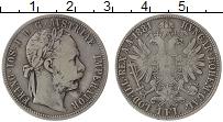 Изображение Монеты Европа Австрия 1 флорин 1881 Серебро VF