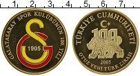 Изображение Монеты Турция 30 лир 2005 Серебро Proof-