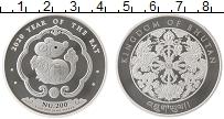 Продать Монеты Бутан 200 нгултрум 2019 Серебро