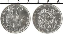 Изображение Монеты Чехия 200 крон 1997 Серебро UNC