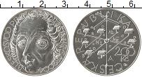 Изображение Монеты Чехия 200 крон 2004 Серебро UNC Прокоп Дивиш