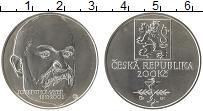 Изображение Монеты Чехия 200 крон 2003 Серебро UNC 150 лет со дня рожде