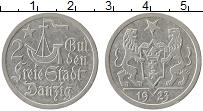 Продать Монеты Данциг 2 гульдена 1923 Серебро