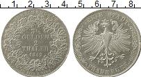 Изображение Монеты Франкфурт 2 талера 1842 Серебро XF