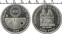 Изображение Монеты Испания 2000 песет 1996 Серебро Proof-