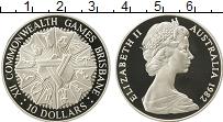 Изображение Монеты Австралия 10 долларов 1982 Серебро Proof