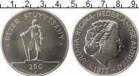 Изображение Монеты Антильские острова 25 гульденов 1977 Серебро UNC