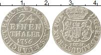 Изображение Монеты Саксония 1/24 талера 1756 Серебро XF