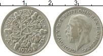 Изображение Монеты Великобритания 6 пенсов 1936 Серебро VF Георг V