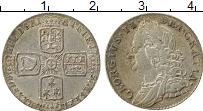 Изображение Монеты Великобритания 6 пенсов 1757 Серебро XF