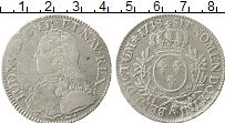 Изображение Монеты Франция 1 экю 1738 Серебро XF-