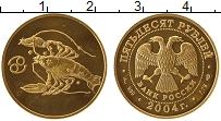 Изображение Монеты Россия 50 рублей 2004 Золото UNC Знаки Зодиака. Рак (