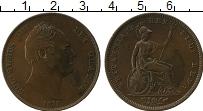 Изображение Монеты Великобритания 1 пенни 1831 Медь XF Георг IIII