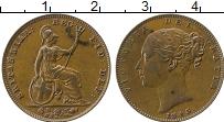 Изображение Монеты Великобритания 1 фартинг 1843 Медь XF Виктория