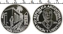 Продать Монеты Аргентина 1 песо 2006 Серебро