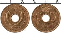 Продать Монеты Восточная Африка 5 центов 1963 Медь