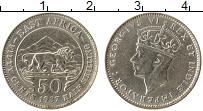Продать Монеты Восточная Африка 50 центов 1937 Серебро