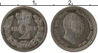 Изображение Монеты Великобритания 2 пенса 1831 Серебро Proof- Георг IV