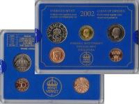 Изображение Подарочные монеты Швеция Набор монет 2002 года 2002  UNC