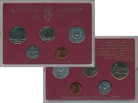 Изображение Подарочные монеты Норвегия Набор 1998 года 1998  UNC