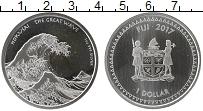 Изображение Монеты Фиджи 1 доллар 2017 Серебро UNC-