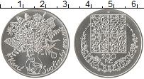 Изображение Монеты Чехия 200 крон 1996 Серебро UNC Сволинский