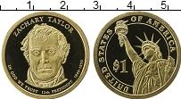 Изображение Монеты США 1 доллар 2009 Латунь Proof-