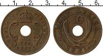 Продать Монеты Восточная Африка 10 центов 1952 Бронза