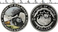 Изображение Монеты Либерия 5 долларов 2011 Медно-никель UNC