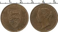 Изображение Монеты Остров Джерси 1/24 шиллинга 1894 Бронза XF-
