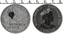 Изображение Мелочь Австралия 1 доллар 2020 Серебро UNC