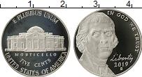 Продать Монеты США 5 центов 2019 Медно-никель