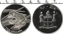 Изображение Монеты Фиджи 2 доллара 2018 Серебро Proof-