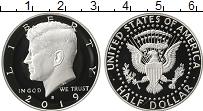 Изображение Монеты США 1/2 доллара 2019 Серебро Proof-