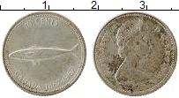Изображение Монеты Канада 10 центов 1967 Серебро VF 100 лет Конфедерации