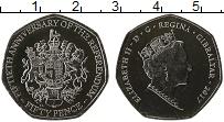 Изображение Монеты Гибралтар 50 пенсов 2017 Медно-никель UNC
