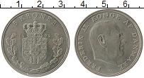 Изображение Монеты Дания 5 крон 1972 Медно-никель UNC- Фредерик IX