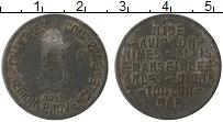 Изображение Монеты Франция 5 сантим 1918 Железо VF Токен, Прованс