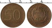 Изображение Монеты Ангола 50 кванза 1978 Медь XF