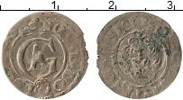 Изображение Монеты Рига 1 солид 1632 Серебро VF Густав Адольф