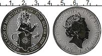 Изображение Монеты Великобритания 5 фунтов 2020 Серебро UNC