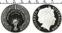 Изображение Мелочь Австралия 1 доллар 2018 Серебро Proof Елизавета II. Чемпио