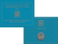 Изображение Подарочные монеты Ватикан 2 евро 2019 Биметалл UNC 25 лет завершения ре