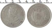 Изображение Монеты Сальвадор 1 песо 1894 Серебро VF+