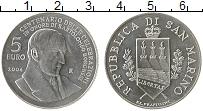 Изображение Монеты Сан-Марино 5 евро 2004 Серебро UNC Бартоломео Боргези R