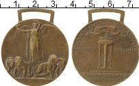 Изображение Монеты Италия Медаль 0 Бронза XF Медаль Победы в Перв
