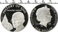 Изображение Мелочь Острова Кука 1 доллар 2004 Посеребрение Proof