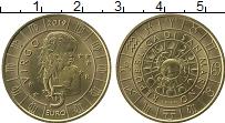 Изображение Мелочь Сан-Марино 5 евро 2019 Латунь UNC Знаки зодиака.Дева