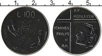 Изображение Монеты Ватикан 100 лир 1983 Медно-никель UNC Понтифик Иоанн Павел